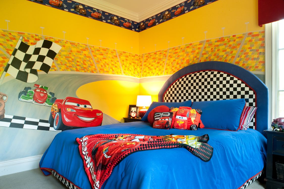 4 cross the finish line - Disney Bedroom Designs