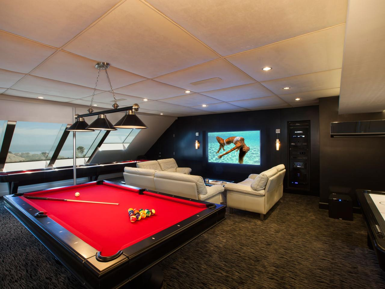 Best man cave installation ideas 23 - Using Unique Architecture To Create Unique Designs