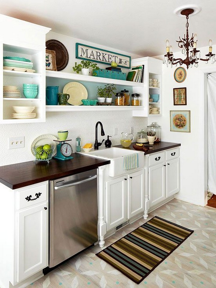 Small Long Kitchen Ideas Part - 25: 5. Classic With A Touch Of Modern