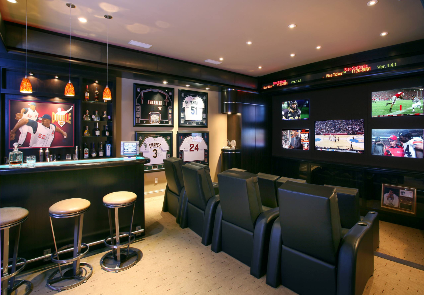 Best man cave installation ideas 23 - 5 Hanging Out At The Sports Bar