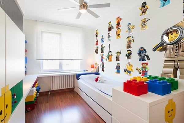 A Minimalist Design With Splashes Of LEGO