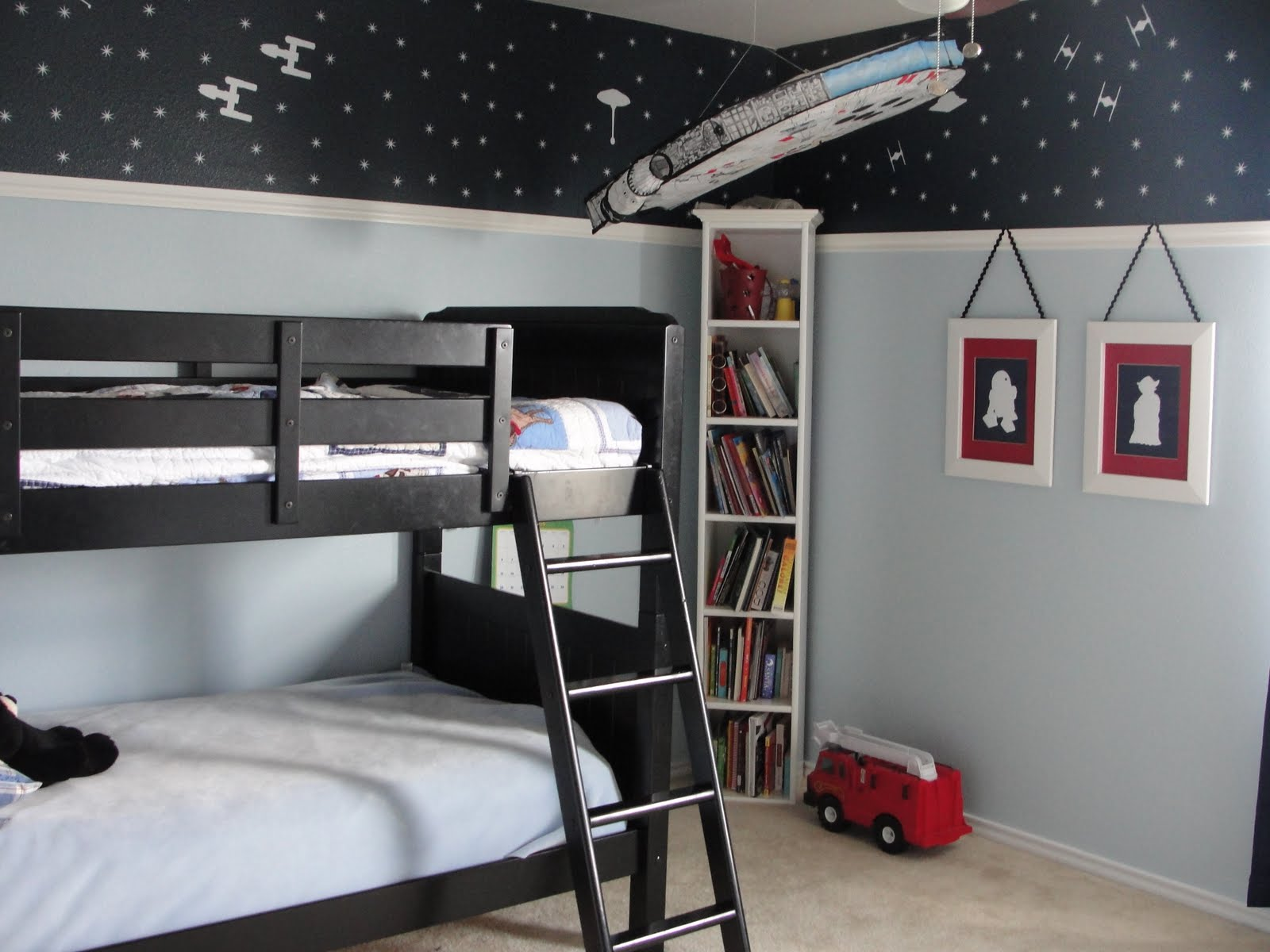 Bedroom designs for boys black - The Boy S Room Star Wars Dream