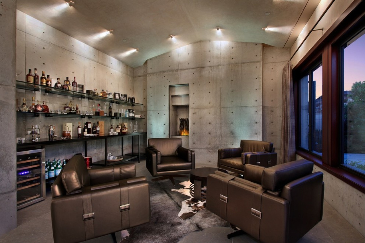 50 best man cave ideas and designs for 2017 for Man cave living room ideas