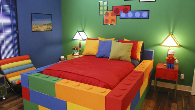 A Lovely LEGO Loft Bed