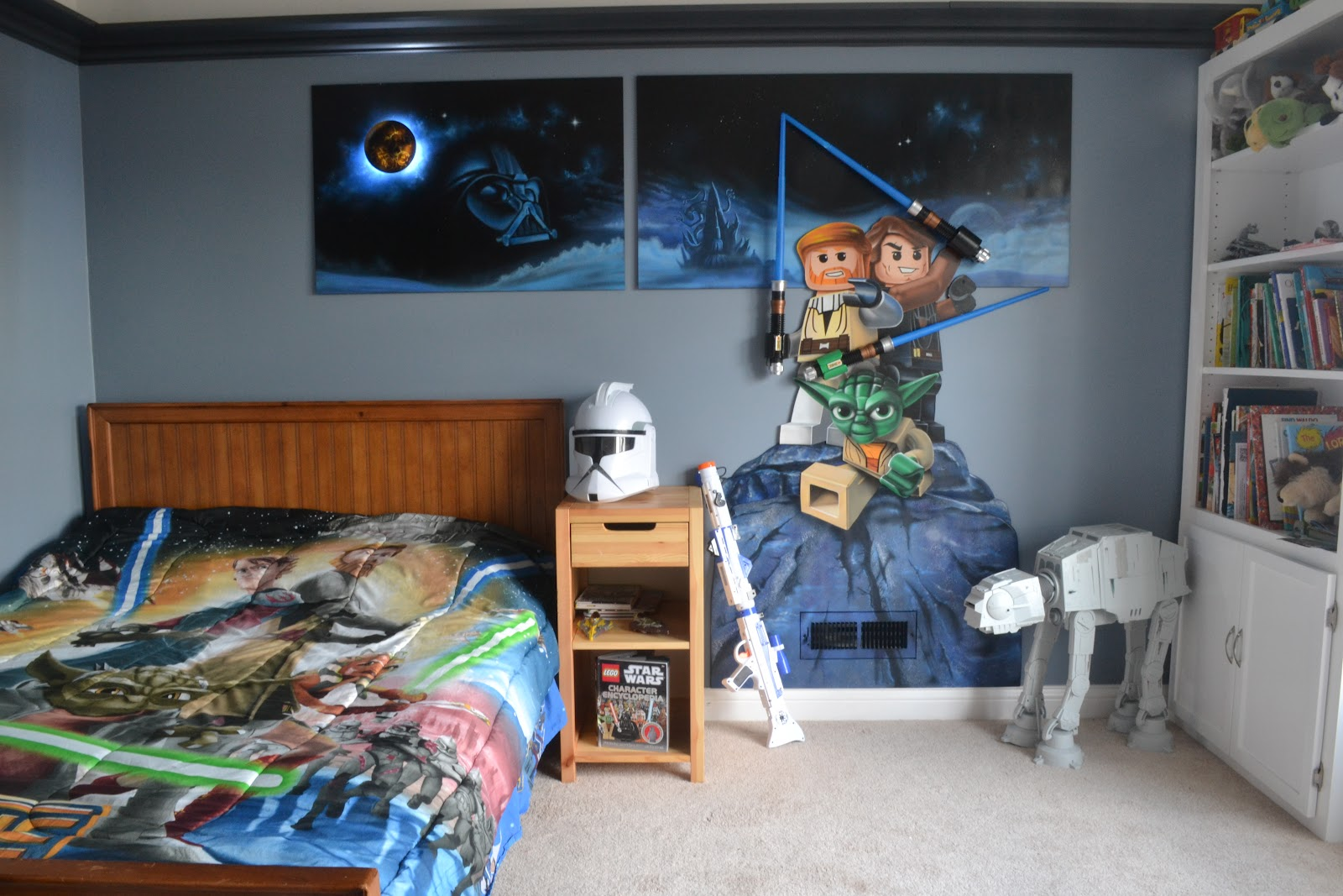 Star wars themed room decor decorating ideas Star wars bedroom ideas