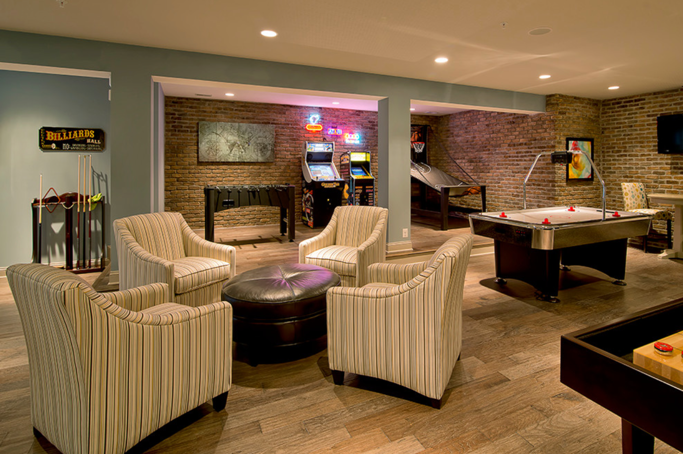 Best man cave installation ideas 23 - Not Afraid Of Color Man Cave