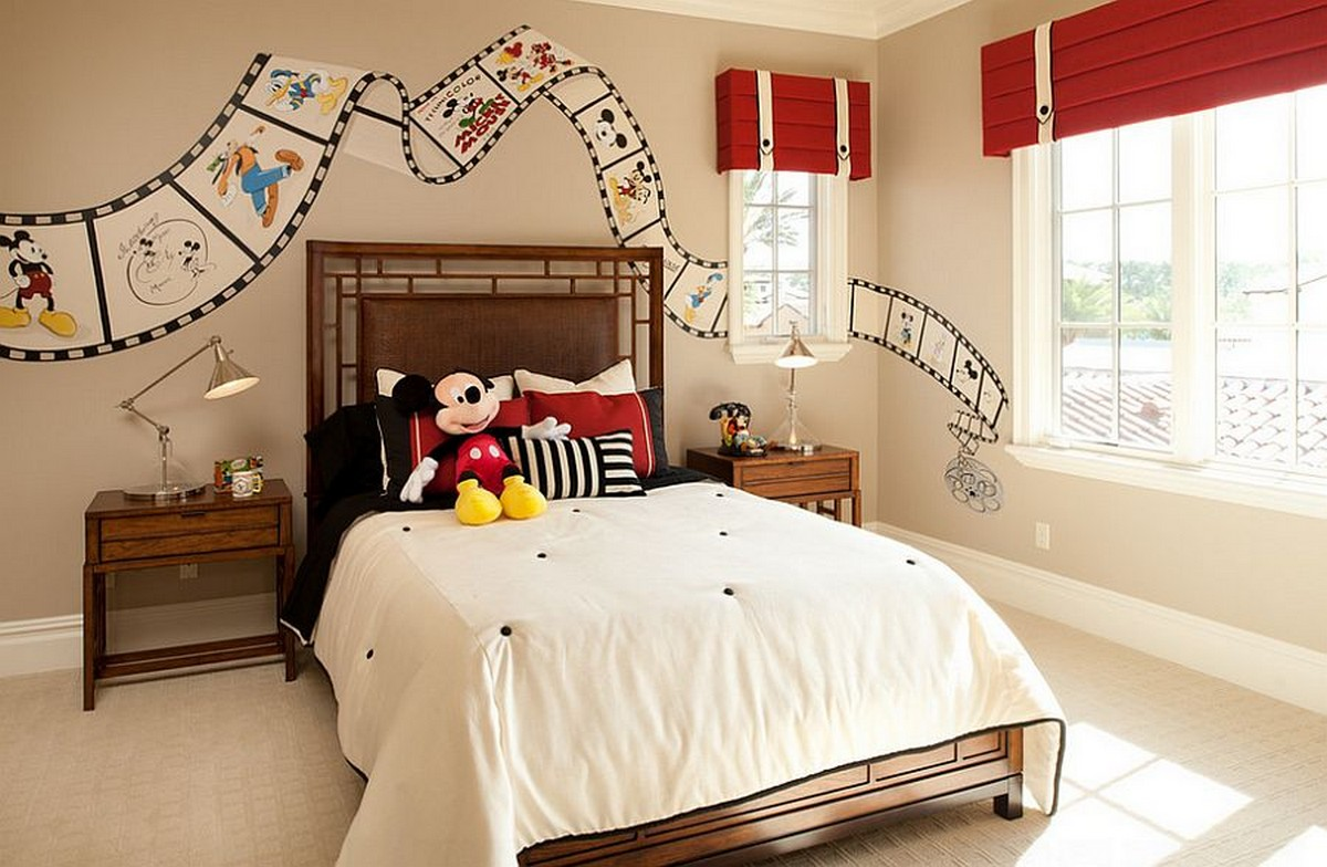 12  Filmstrip Fascination 42 Best Disney Room Ideas and Designs for 2017