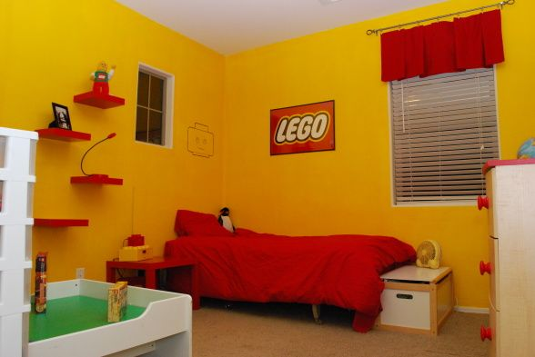 40 best lego room designs for 2017 for Bedroom bad design