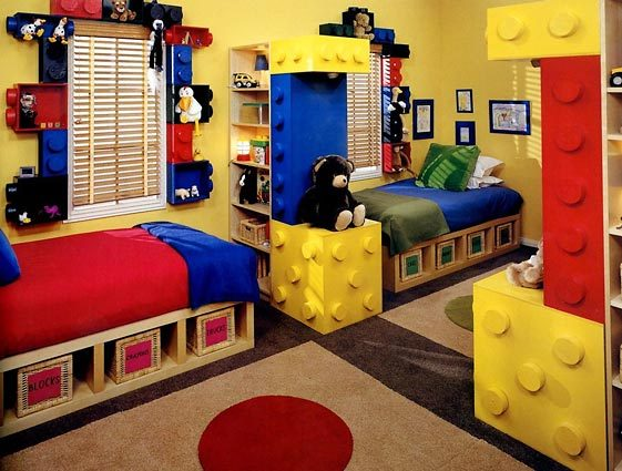 the perfect lego pad for two - Boys Room Lego Ideas