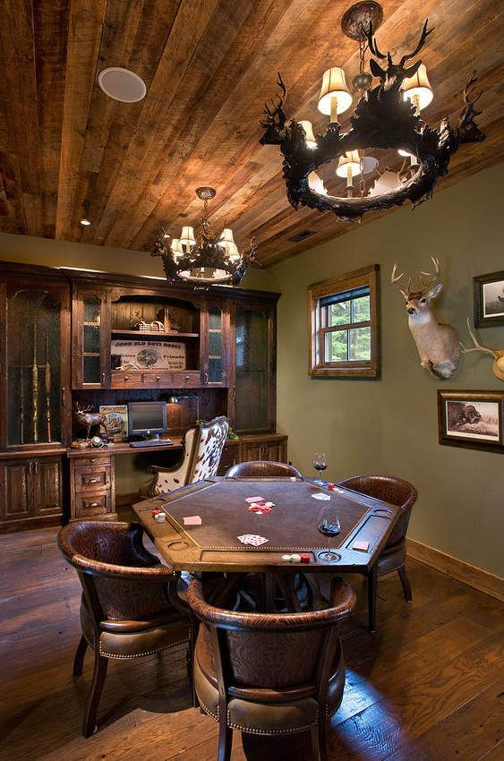 Man Cave Ideas For The Outdoorsman : Best man cave ideas and designs for