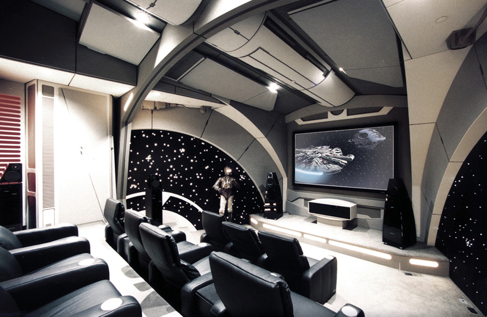 The Death Star of a Star Wars Theater Room