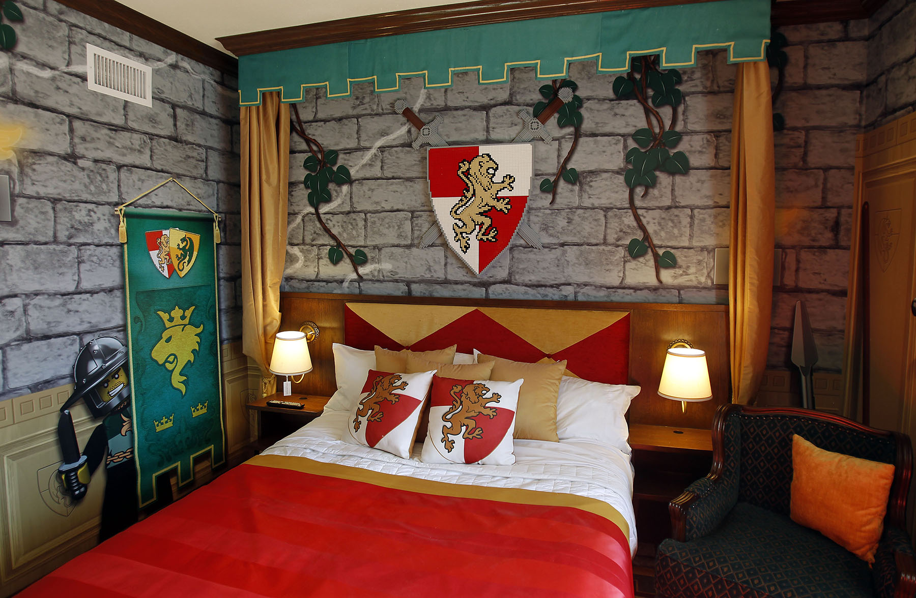 40 best lego room designs for 2017 18 digs inspired by the medieval world of lego