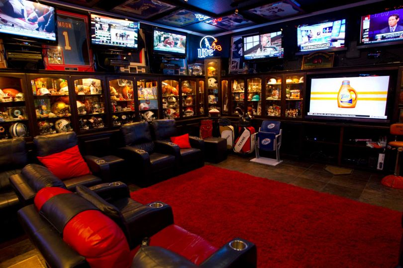 Sports Man Cave Accessories : Best man cave ideas and designs for