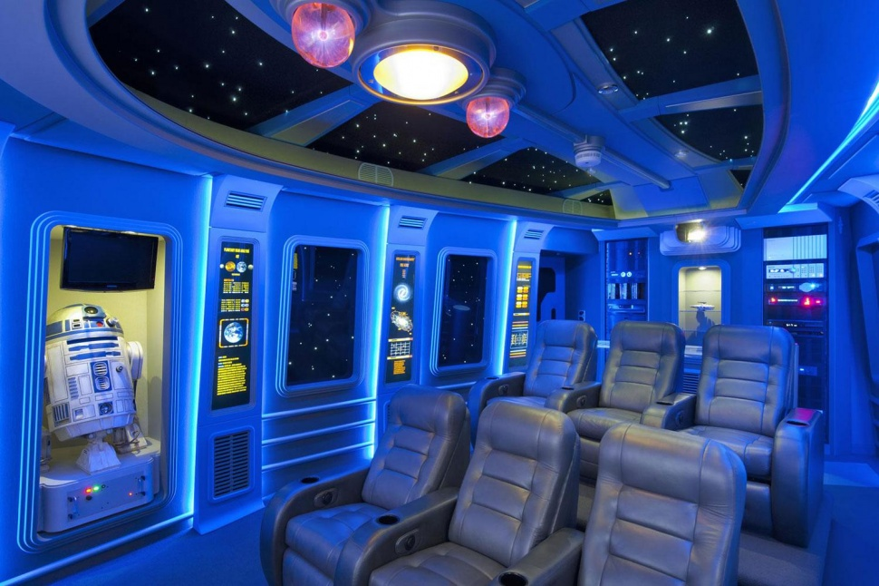 Home Theater Room Ideas 45 best star wars room ideas for 2017