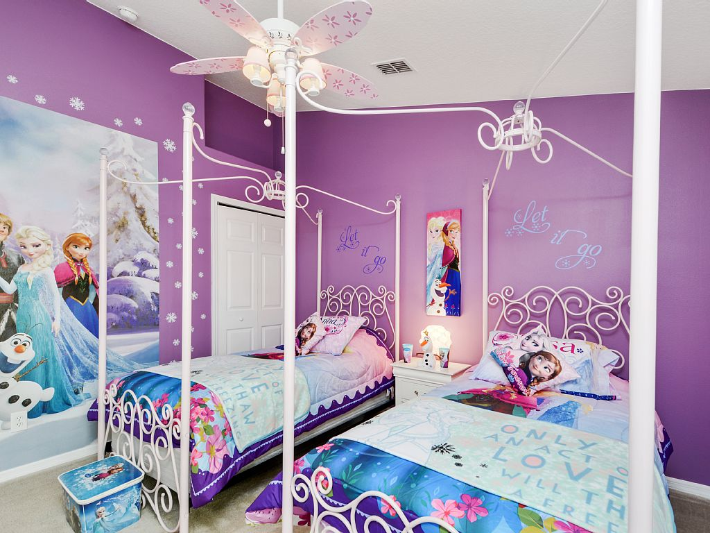 42 best disney room ideas and designs for 2018 for Children bedroom designs girls