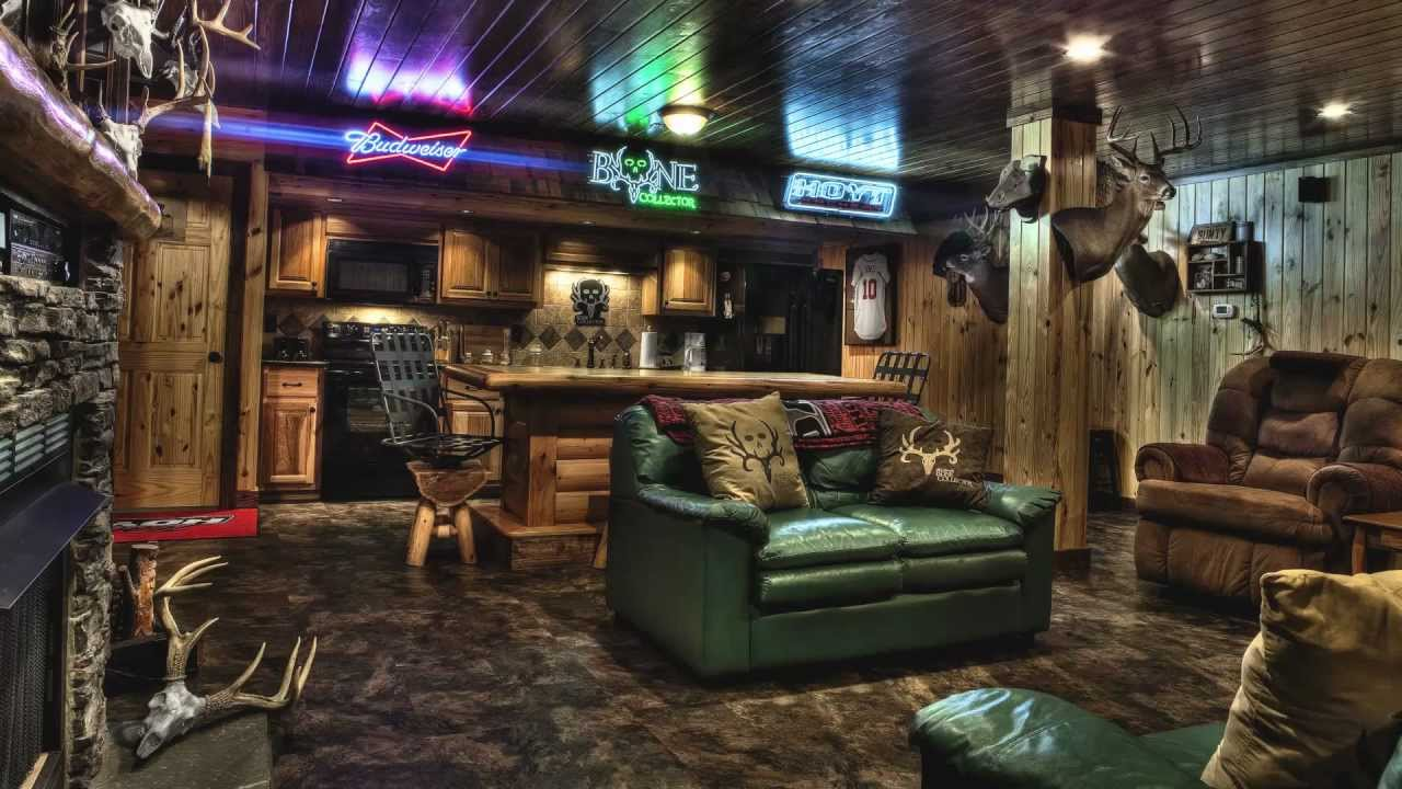 Using Sports Bar Elements for Man Cave
