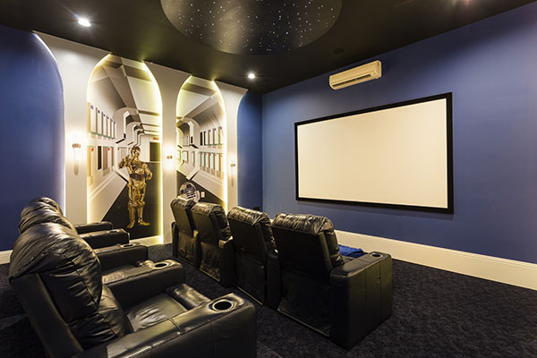 45 best star wars room ideas for 2017 for Decoration home cinema