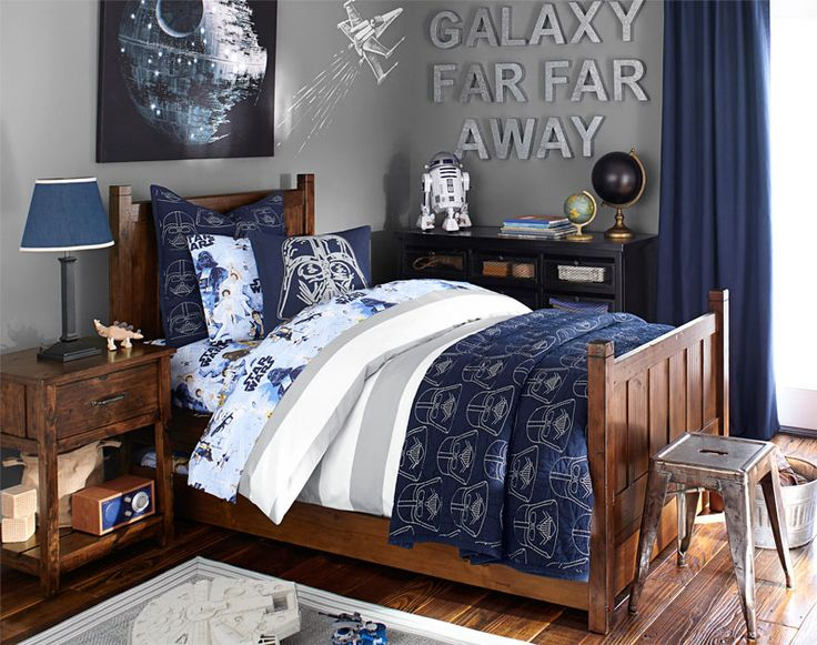 45 best star wars room ideas for 2017 for Galaxy bedroom ideas