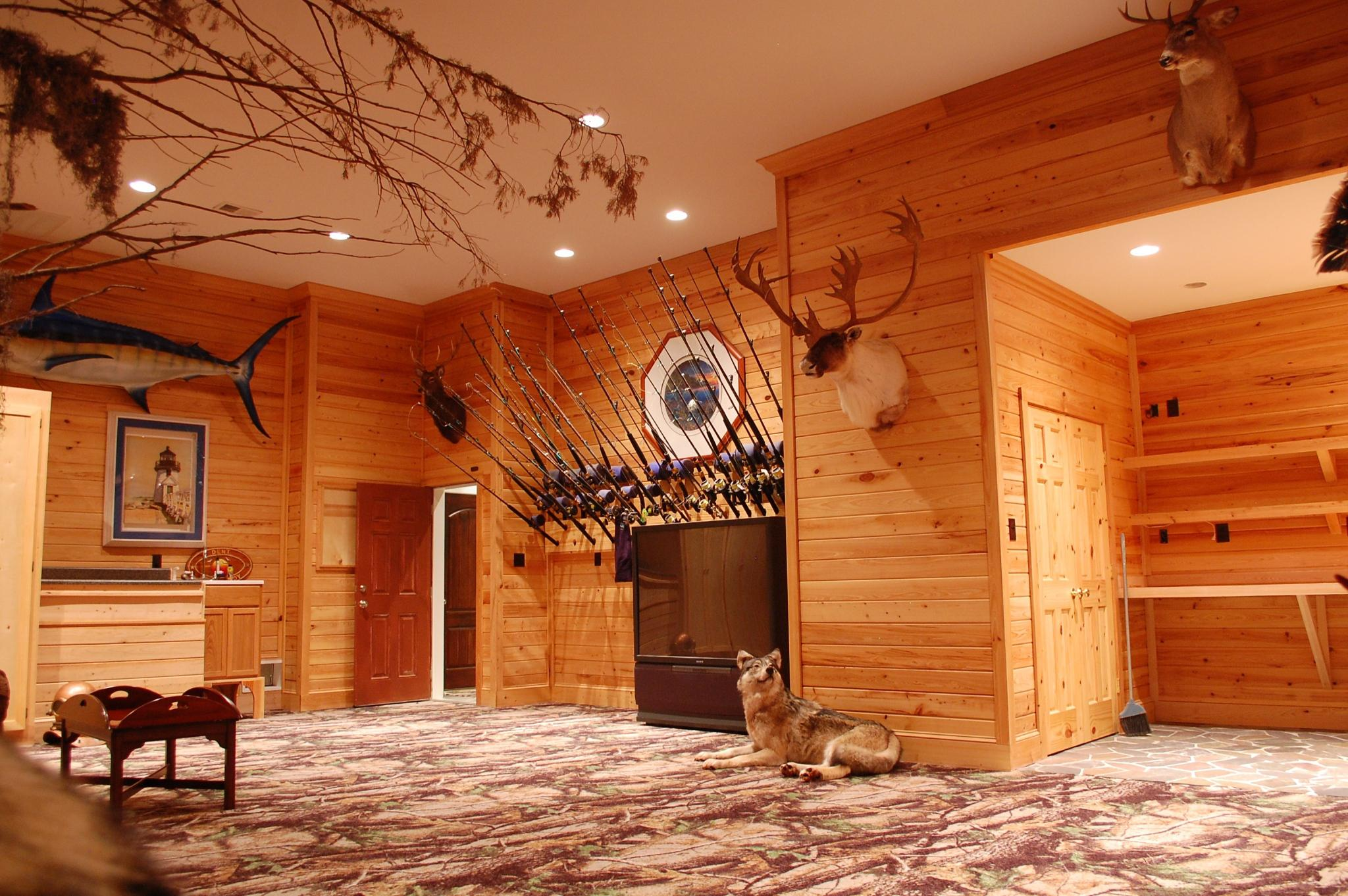 Design Inspired by Nature Man Cave