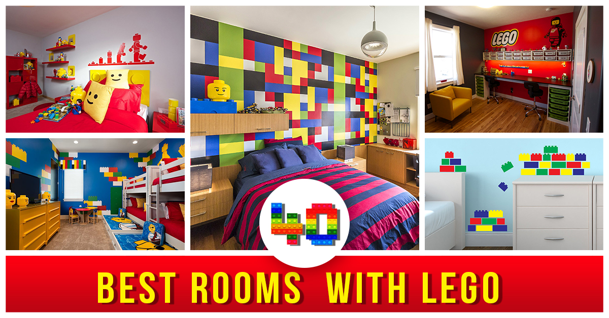 40+ Best LEGO Room Designs for 2016