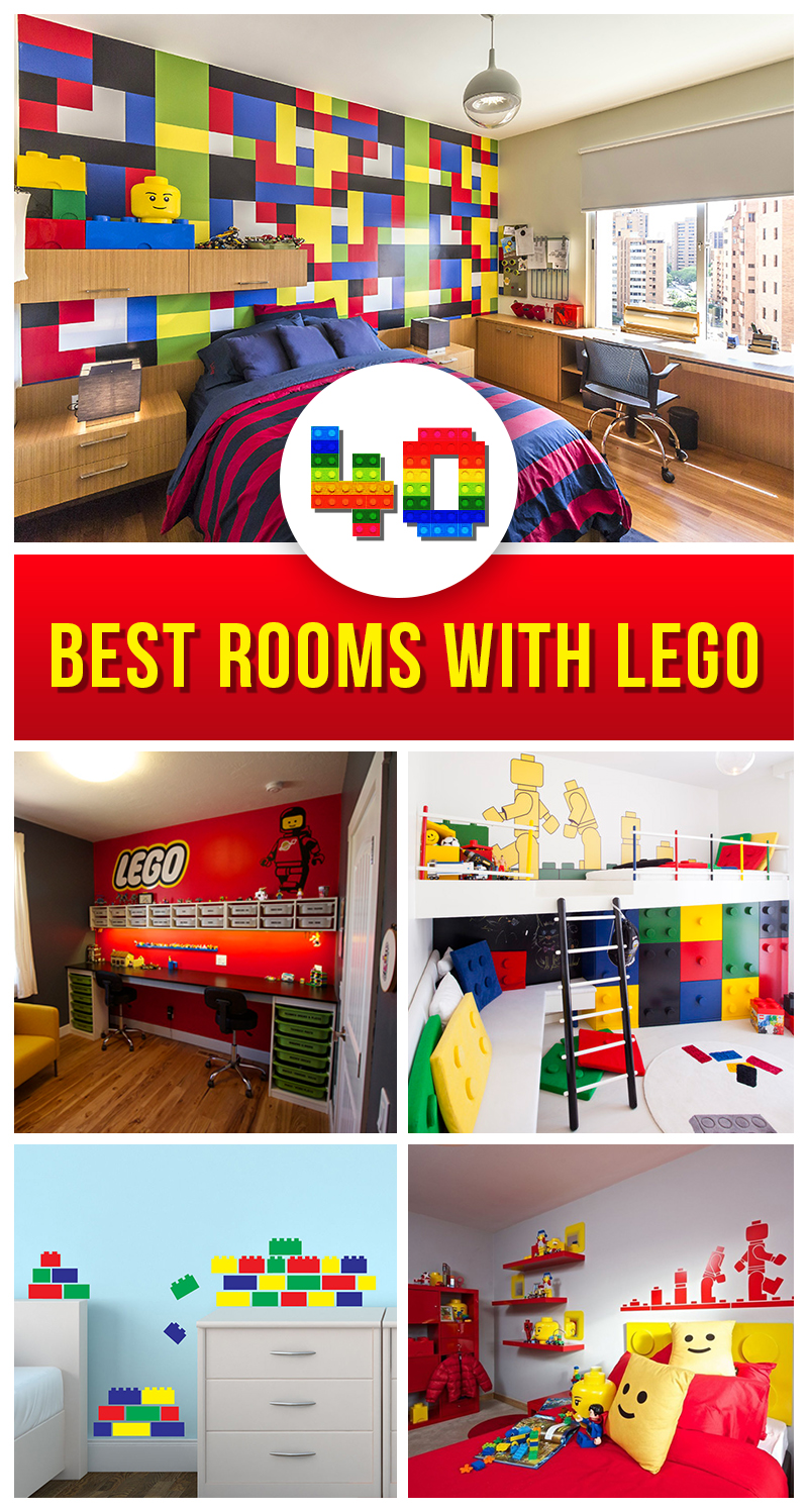 Best LEGO Room Design Ideas