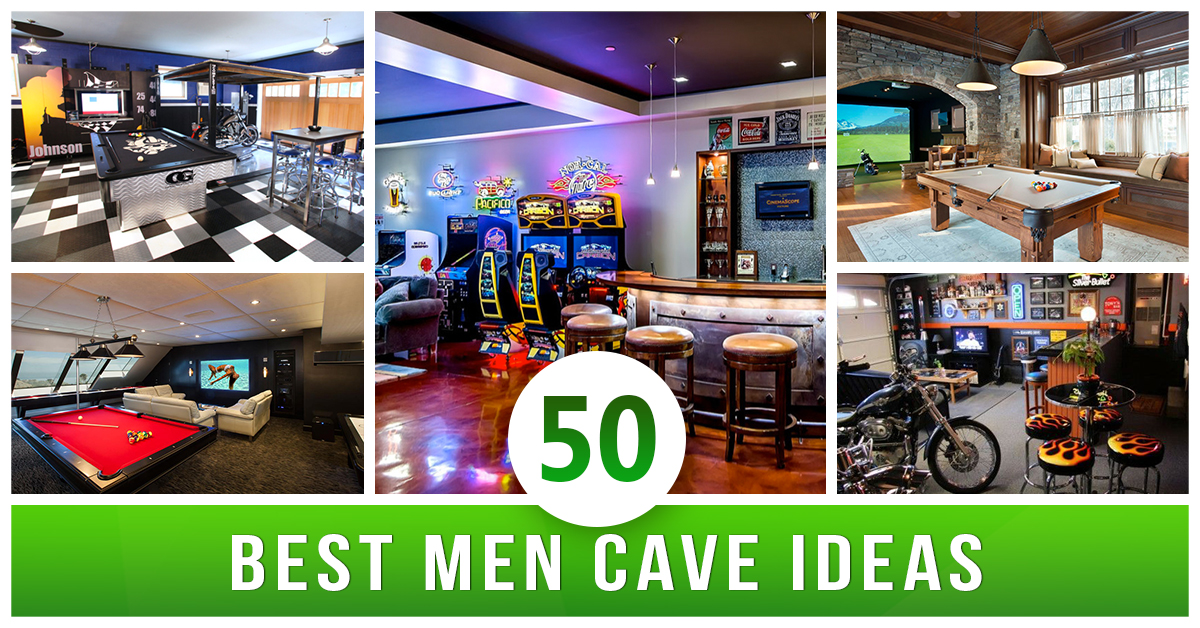 50 Best Man Cave Ideas And Designs For 2018