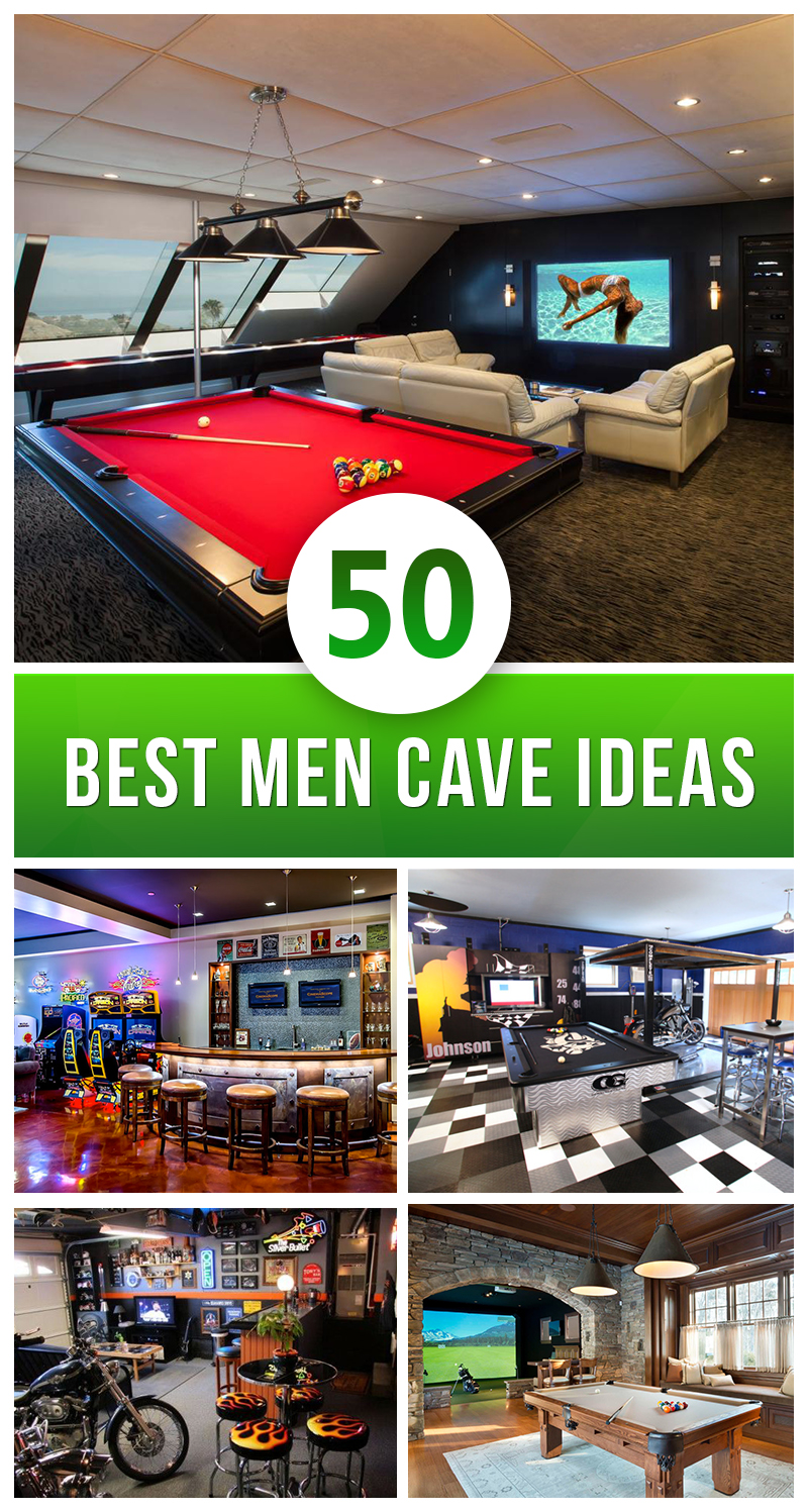 50 best man cave ideas and designs for 2017 for Diy bar for man cave