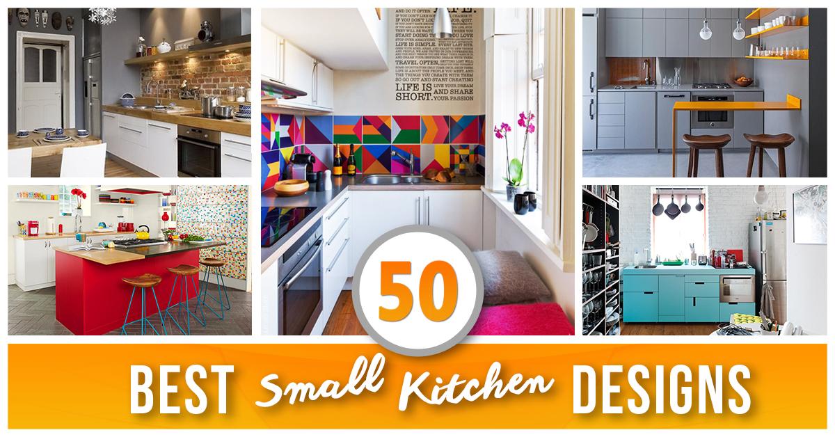 50 Best Small Kitchen Ideas