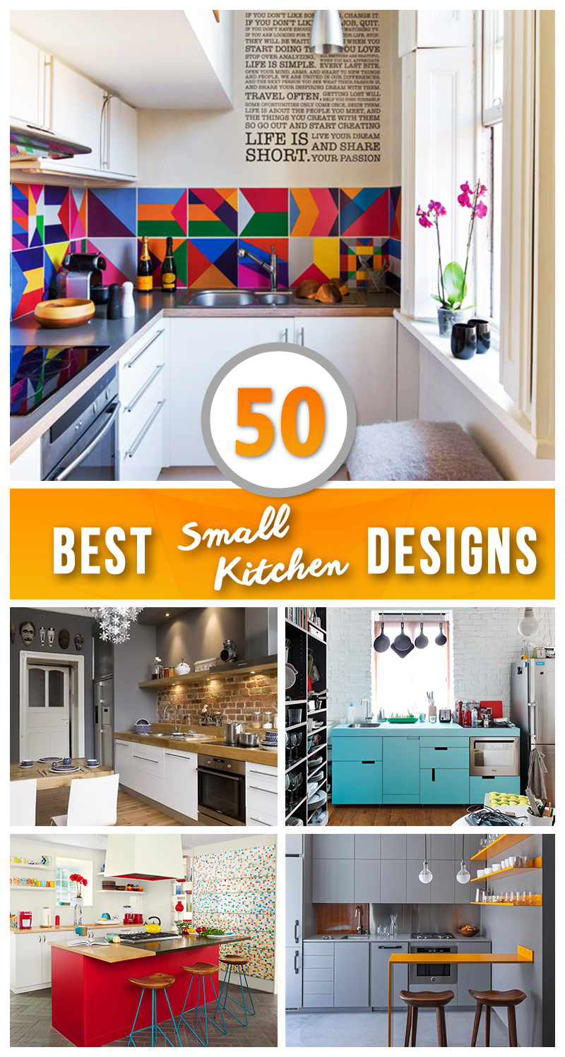 50 best small kitchen ideas and designs for 2017 for Best kitchen designs 2016