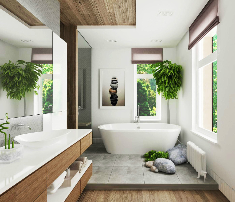 Luxury bathroom designs 2016 - 1 A Tranquil Space For The Body And Spirit