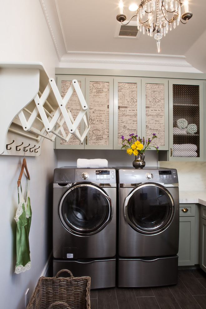 50 best laundry room design ideas for 2017 for Decorate a laundry room
