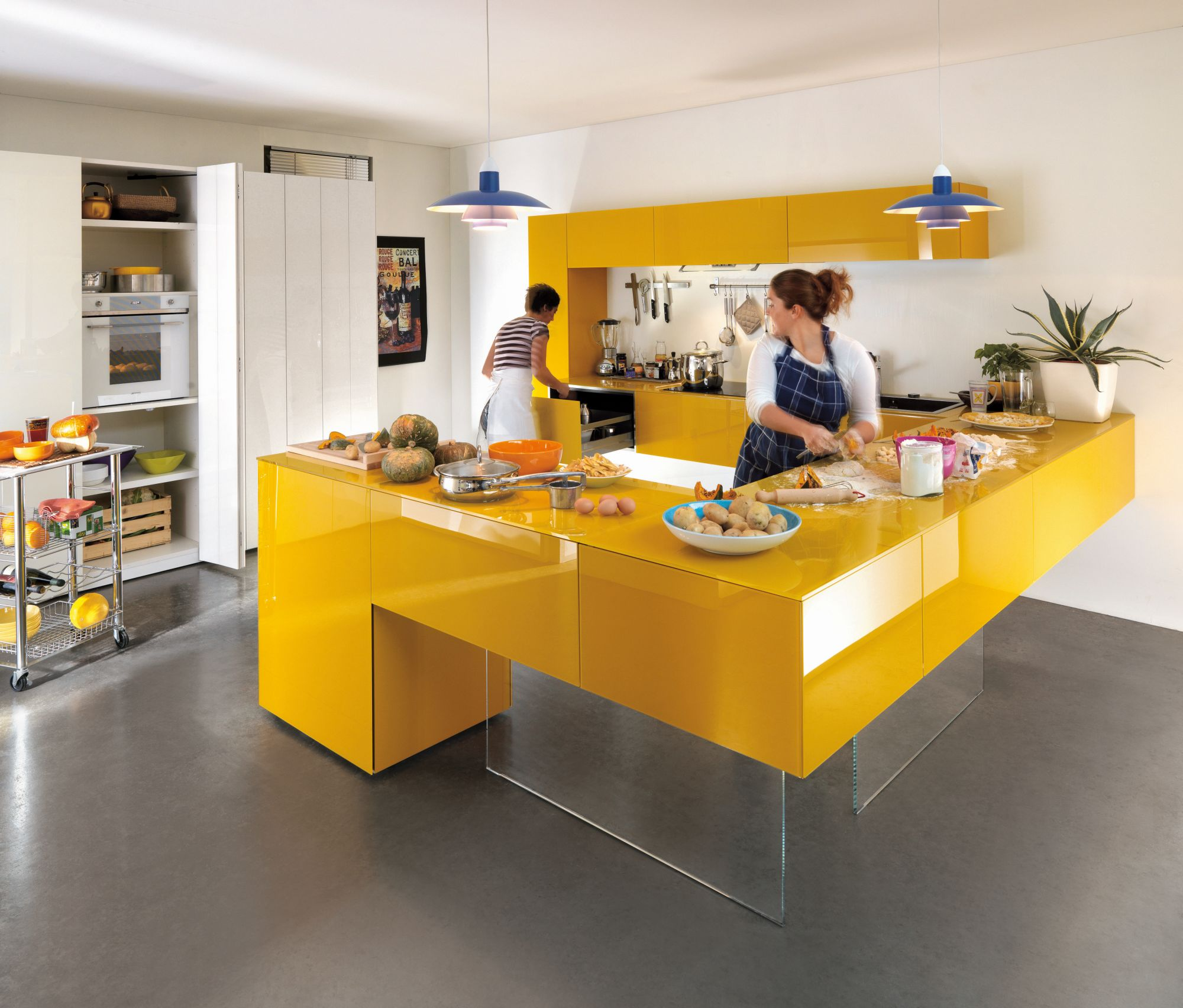 7  Bold Sunshine. 44 Best Ideas of Modern Kitchen Cabinets for 2017
