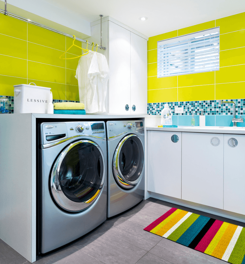 laundry is like so groovy - Laundry Room Design Ideas