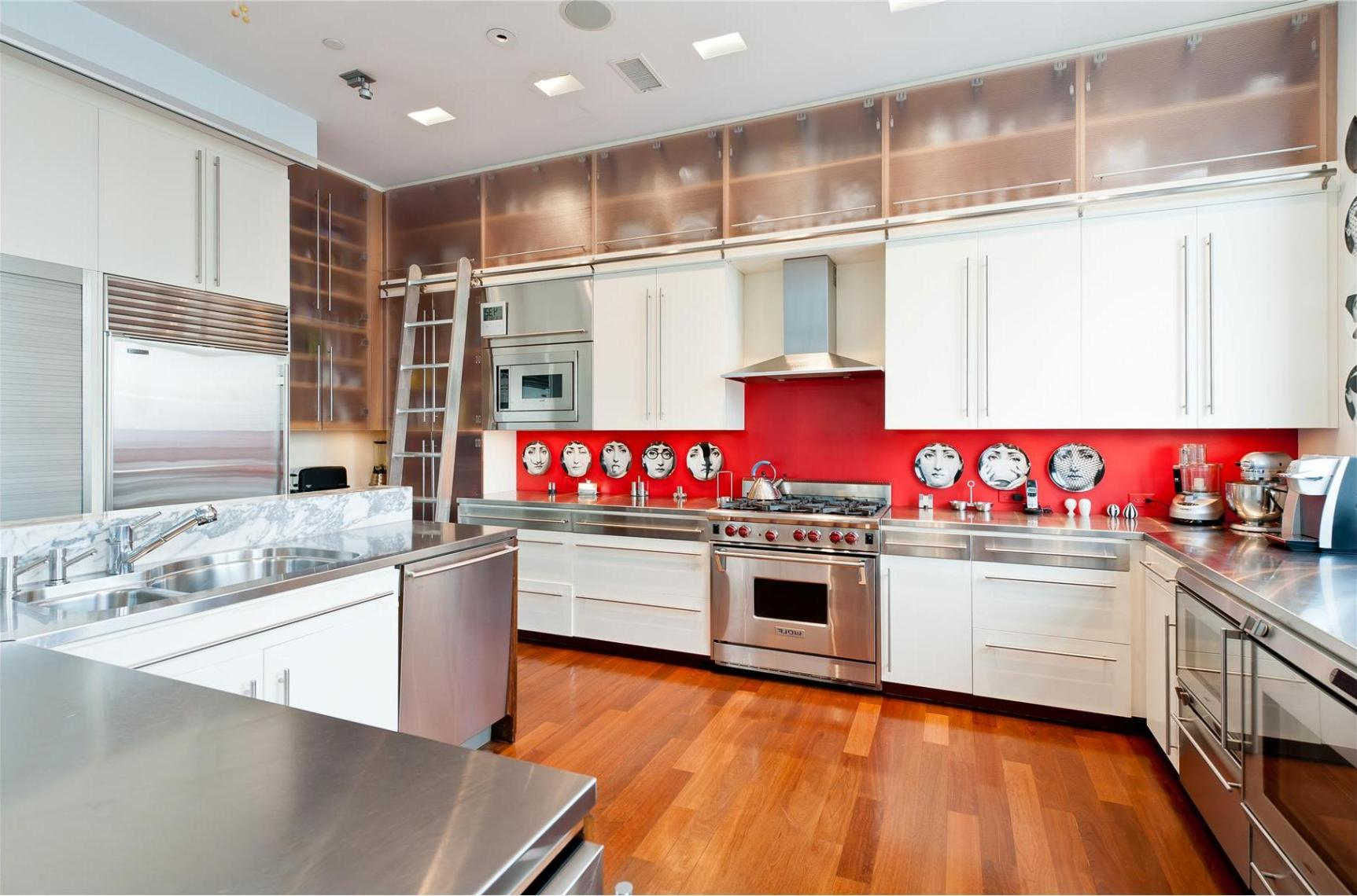 lets go retro in a white kitchen - White Kitchen Cabinets
