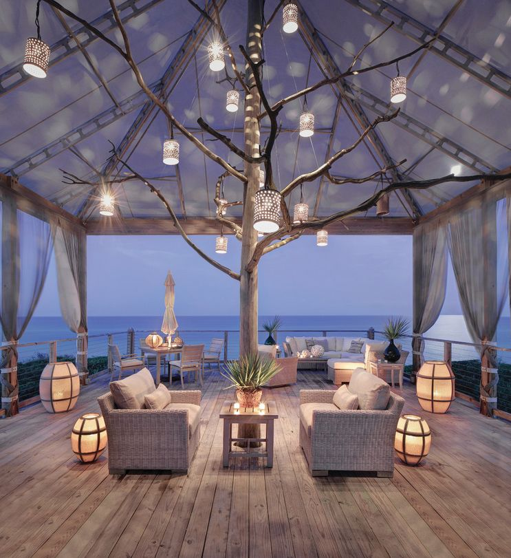 Magical Oceanside Patio Design
