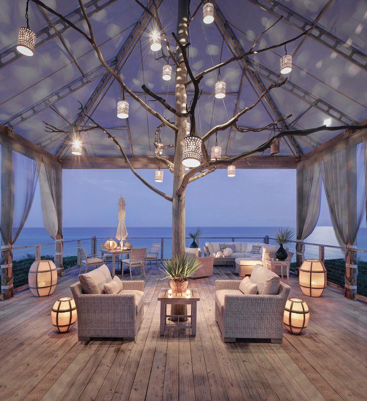 Magical Oceanside Patio Design