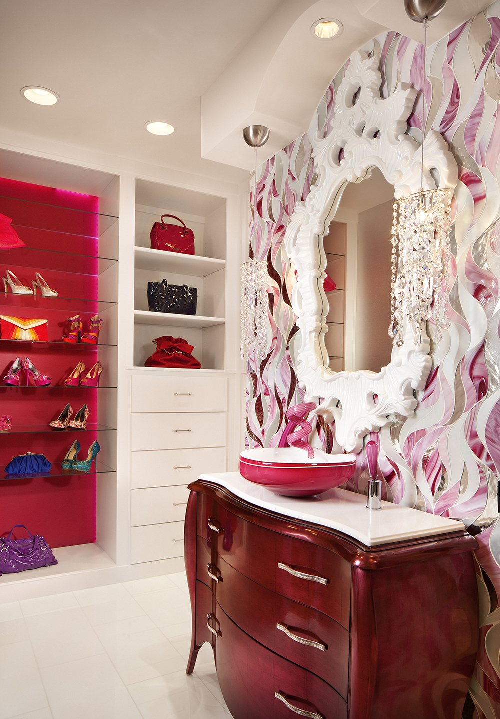 Bathroom designs 2016 - 8 Pretty In Pink