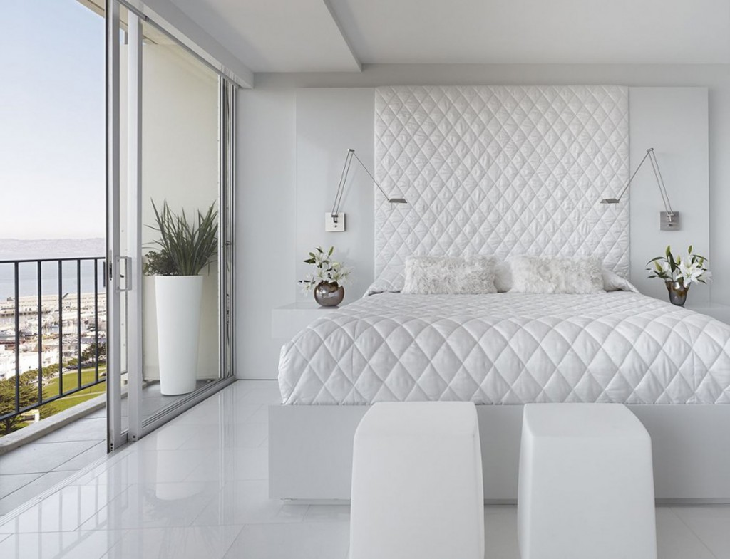 white out - White Bedroom Decorating Ideas