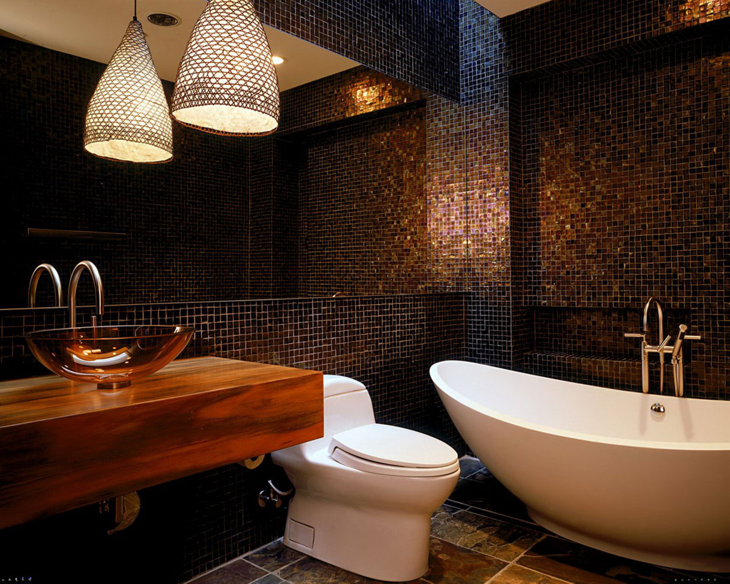 a rich roman mosaic - Bathroom Design Ideas With Mosaic Tiles