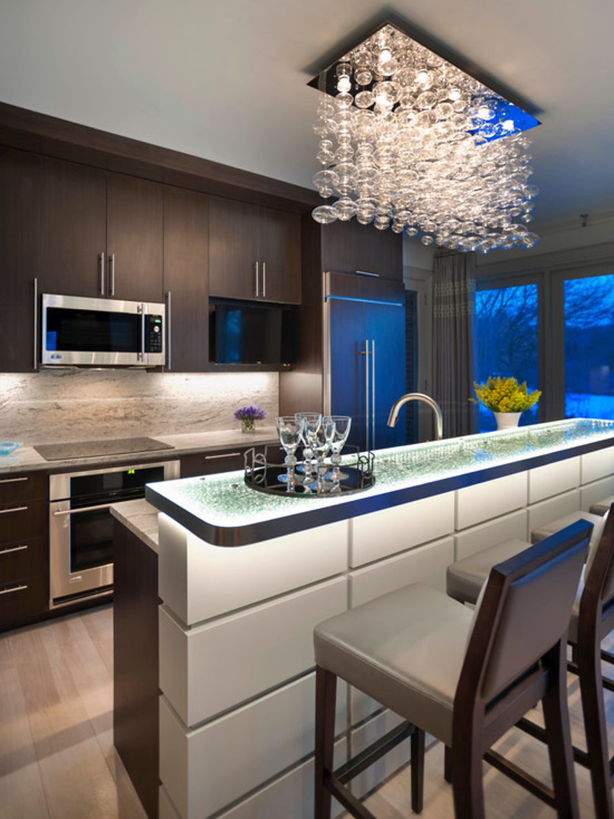 10 the espresso elegance - Modern Kitchens