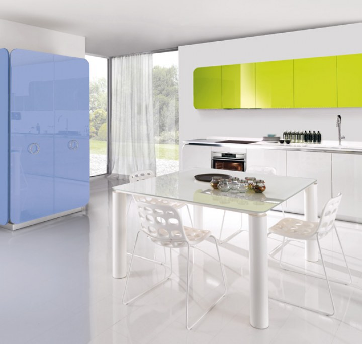 Contemporary Kitchen Cabinets Design kitchen shelves with blinds contemporary Modern Avant Garde