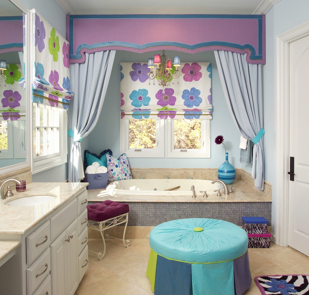 Kids bathroom designs 2016 - 12 Purple Passion