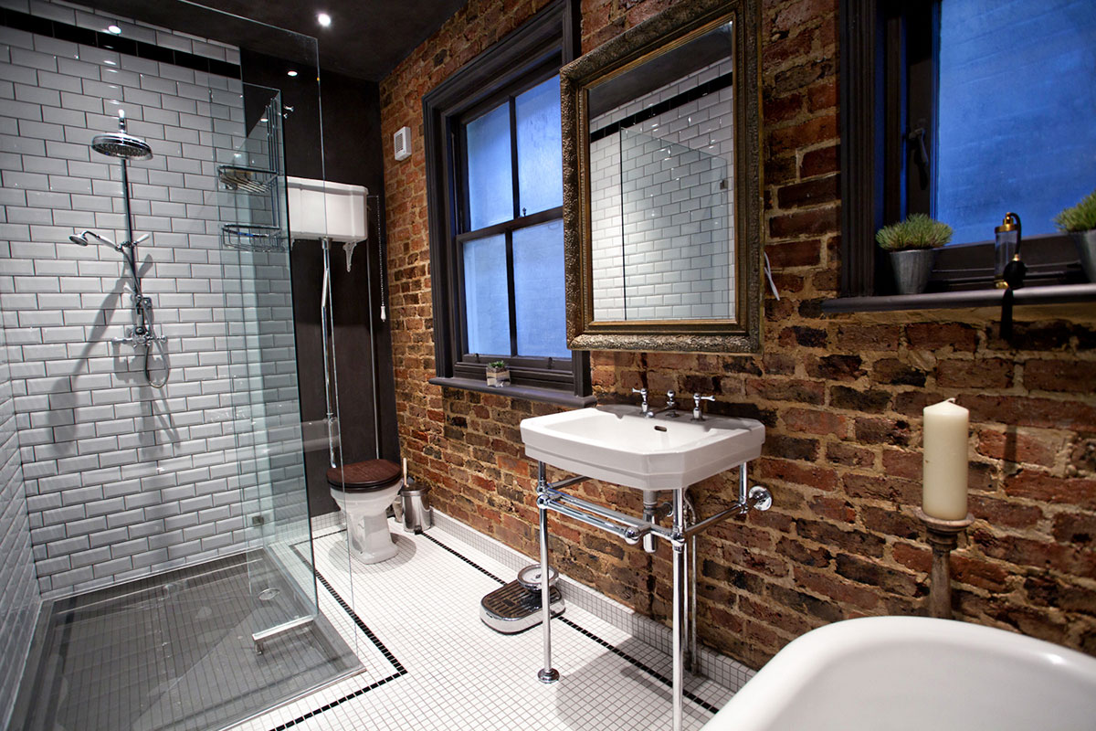 Old home bathroom remodel ideas - Everything Old Is New Again