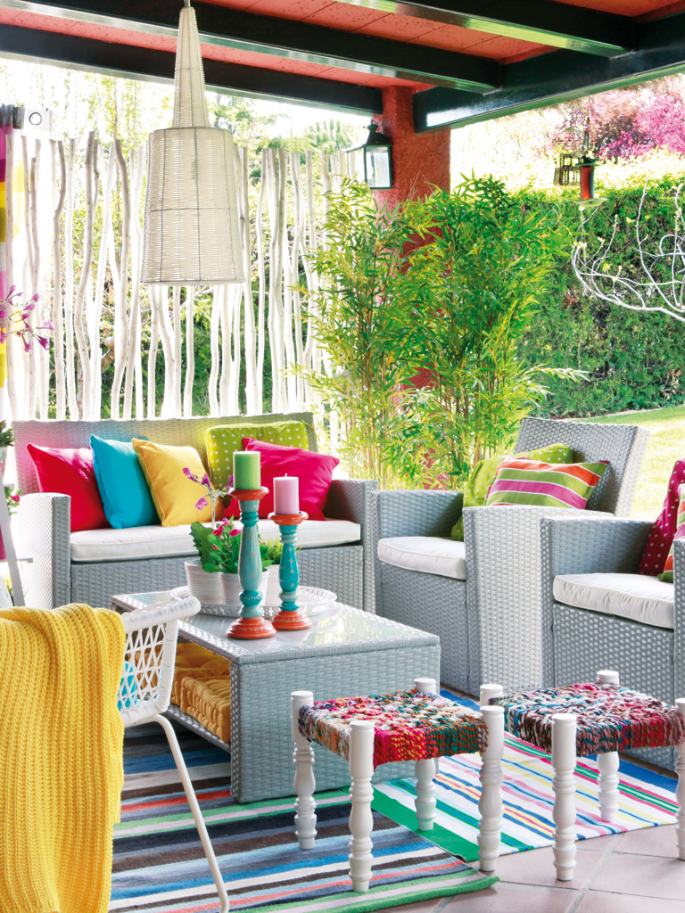 Fun And Funky Patio Design Idea