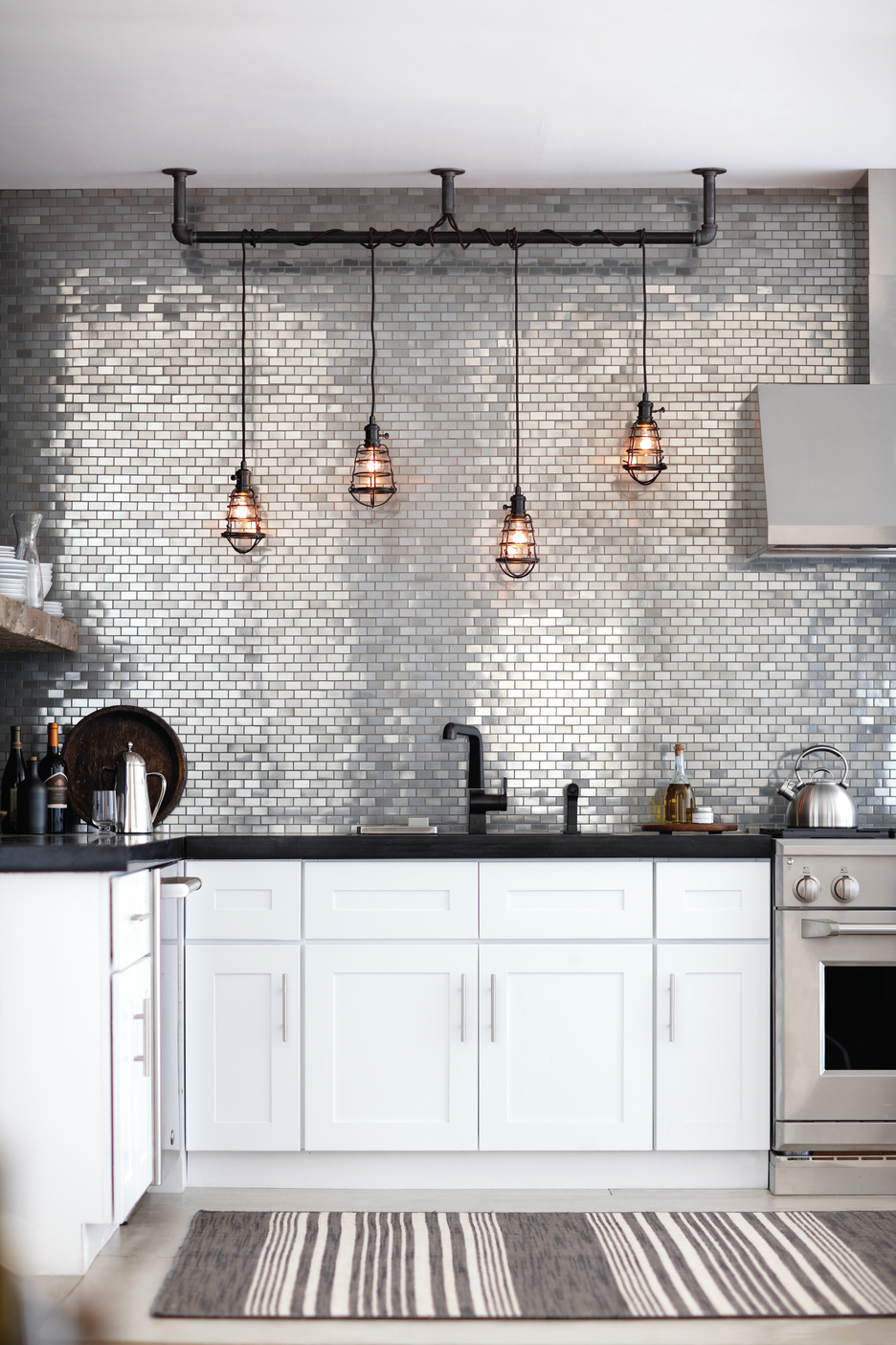 18 Unique Kitchen Backsplash Design Ideas - Style Motivation