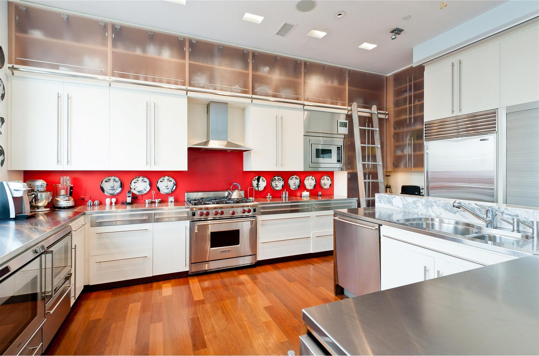 White Kitchens With Wood Floors Wood Floor White Kitchen Cozy Home Design