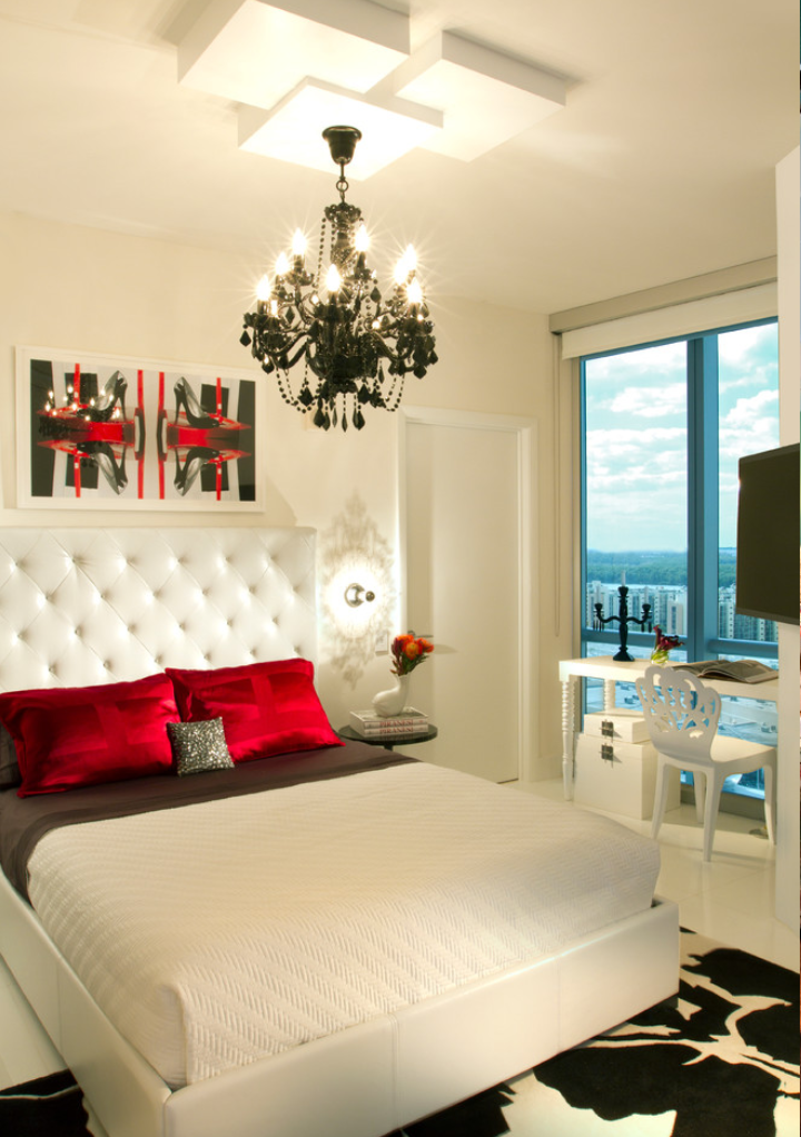source decoistcom a black and white bedroom