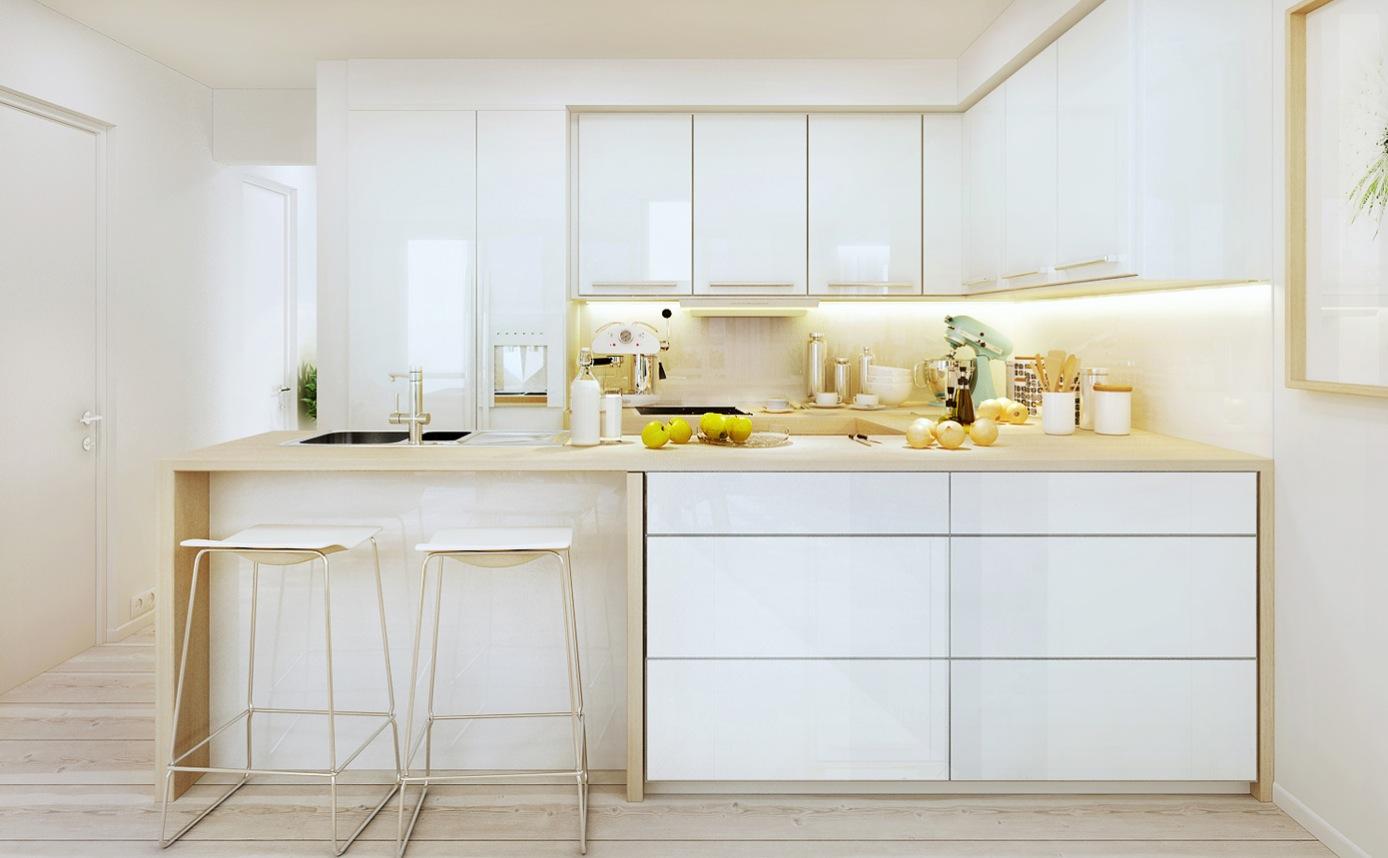 modern kitchens with white cabinets 44 best ideas of modern kitchen cabinets for 2017 23557