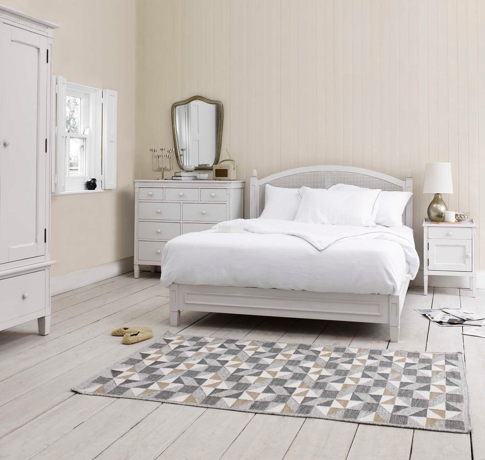 50 best bedrooms with white furniture for 2016 - Dormitorio shabby chic ...