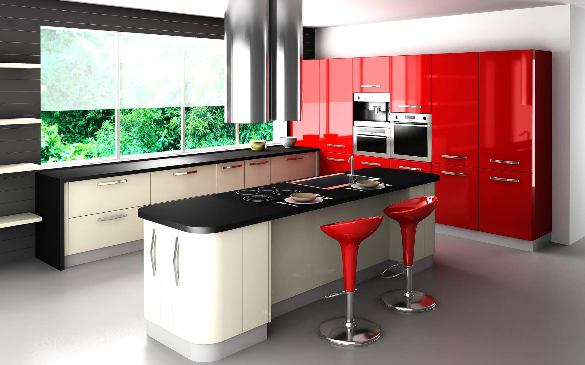 Wallpaper Designs For Kitchens 44 Best Ideas Of Modern Kitchen Cabinets For 2017